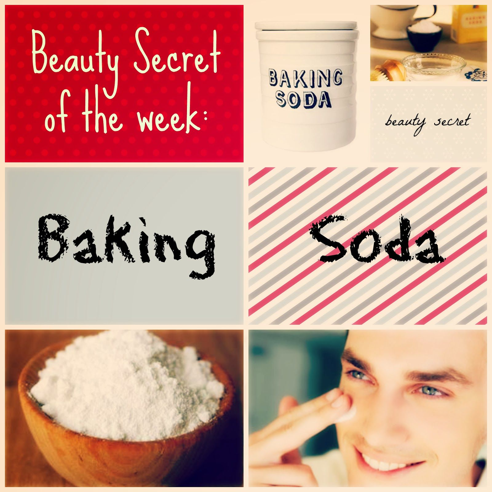 Beauty Secret of the Week: Baking Soda  Makeup hacks beauty