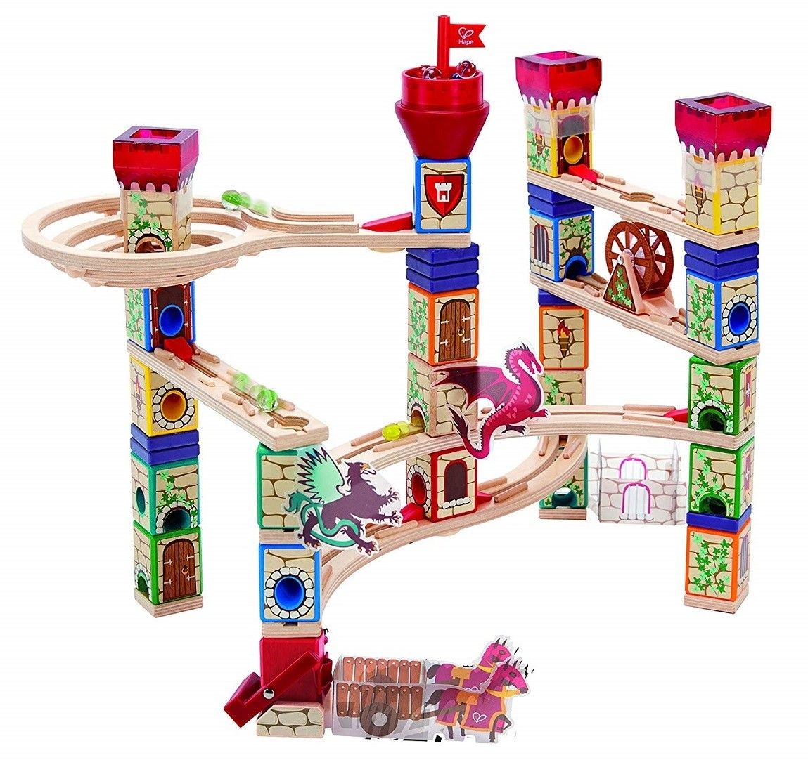 A Mighty Girl S Top Toy Picks For The One Big Gift A Mighty Girl Marble Run Wooden Marble Run Medieval