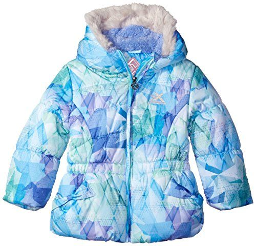 Little Girls Bethany Puffy Jacket Girl Coat Puffy