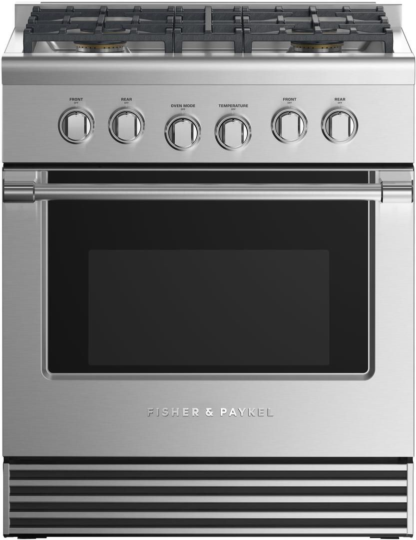 Fisher paykel rgv2304nn 30 inch professional series