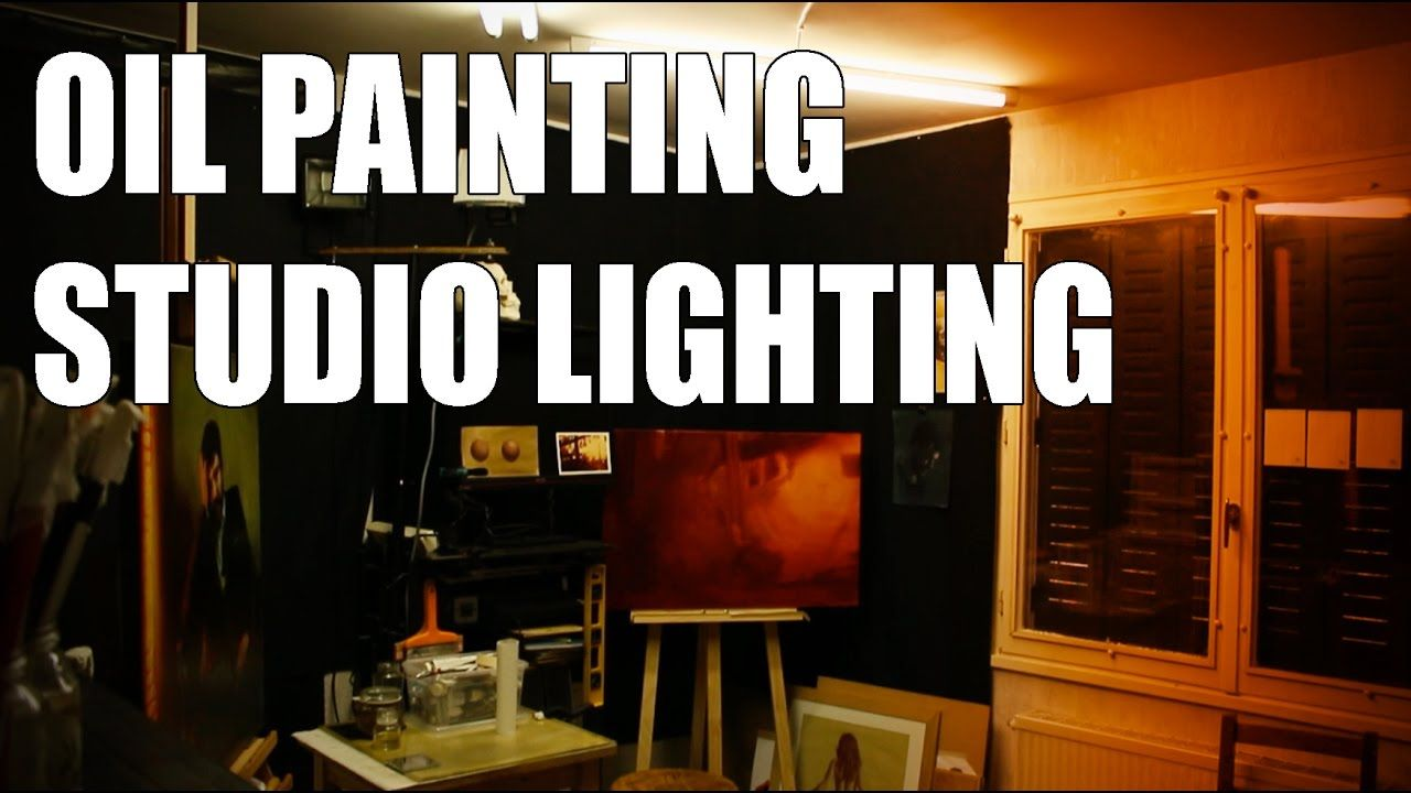 oil painting studio lighting 10 tips to have good light conditions