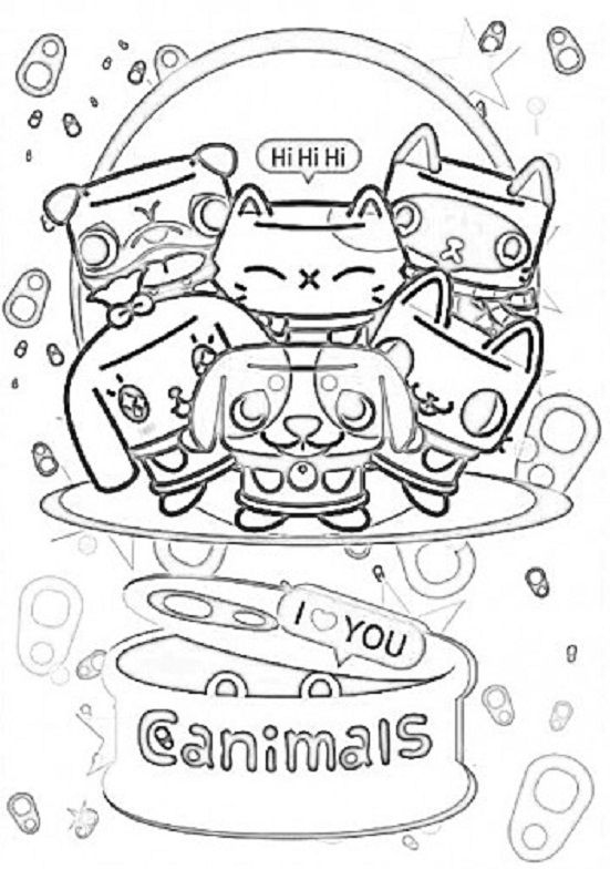 redline coloring pages | Dibujos-para-imprimir-de-canimals-2.jpg (551×784) | I Love ...
