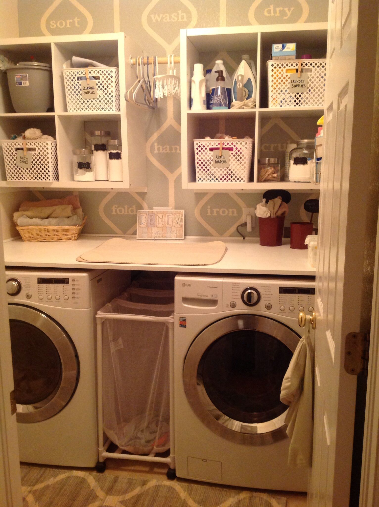 Laundry Room Makeover Projects And Parenting Laundry Room Diy