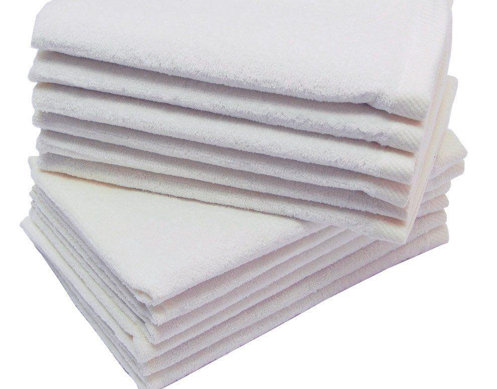 11x18 White Fingertip Towels 100 Cotton Fingertip Towels