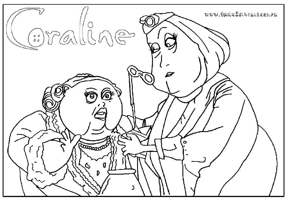 Coraline Coloring Pages Coloring Pages Best Of Home Pictures Coloring Pages Coraline Coloring Book Pages