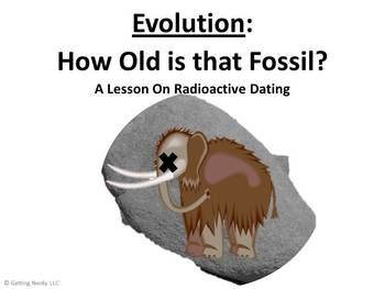 radioactive dating activity middle school