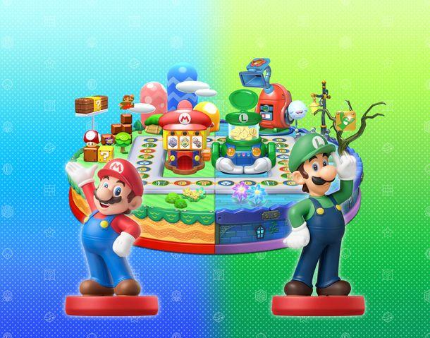 Mario & Luigi: Amiibo Party (Mario Party 10)