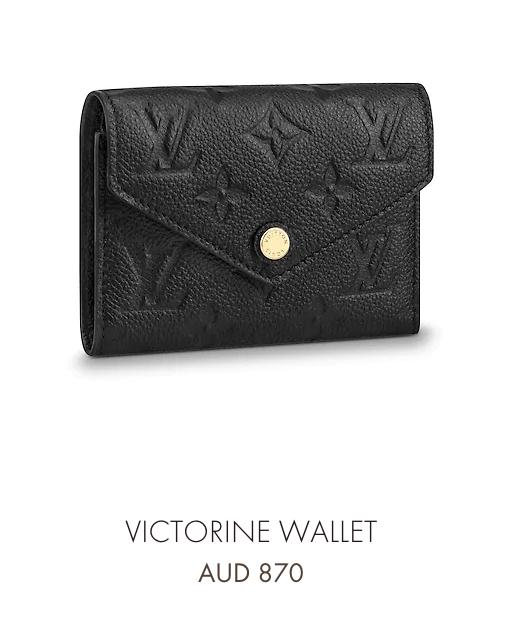 e37e5db1afd8 LV Victorine wallet in black