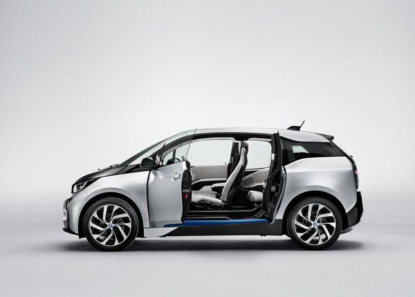 Electric car - eco - BMW