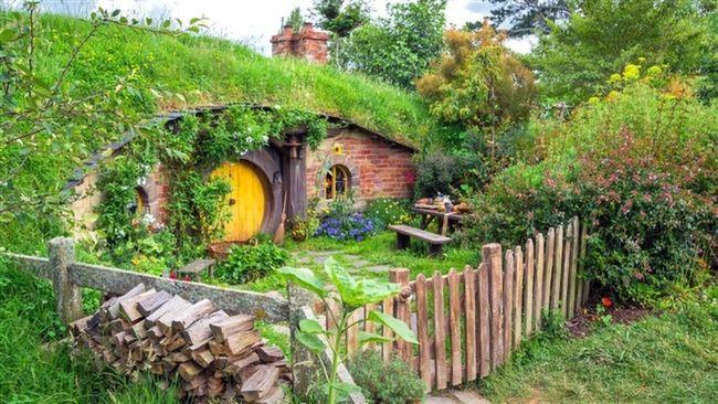 Hobbiton Village in New Zealand