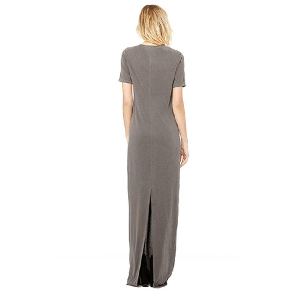 Sage green maxi dress long olive green dress t shirt dress no