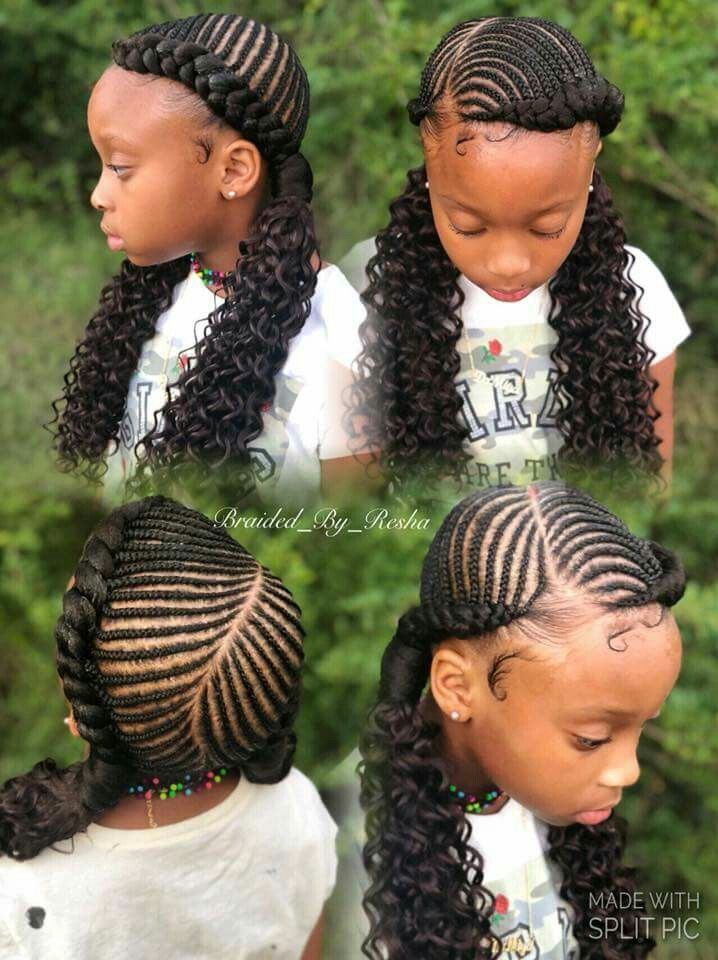 Pin By Sanaisutton On Braids Girls Hairstyles Braids Kids Hairstyles Kids Braided Hairstyles