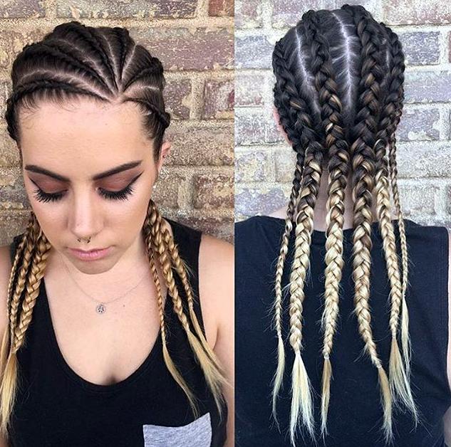 White girl braids …   Cornrow hairstyles, White girl ...