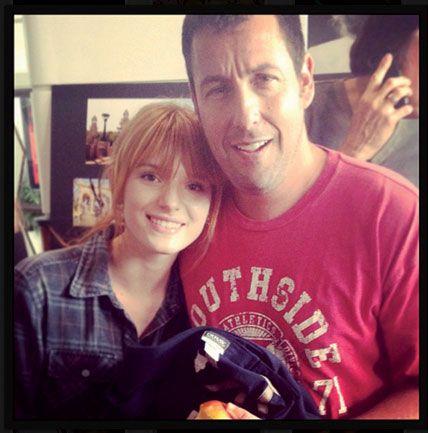 Go On Set With Bella Thorne In Africa Adam Sandler Blended Movie Celebrity Pictures