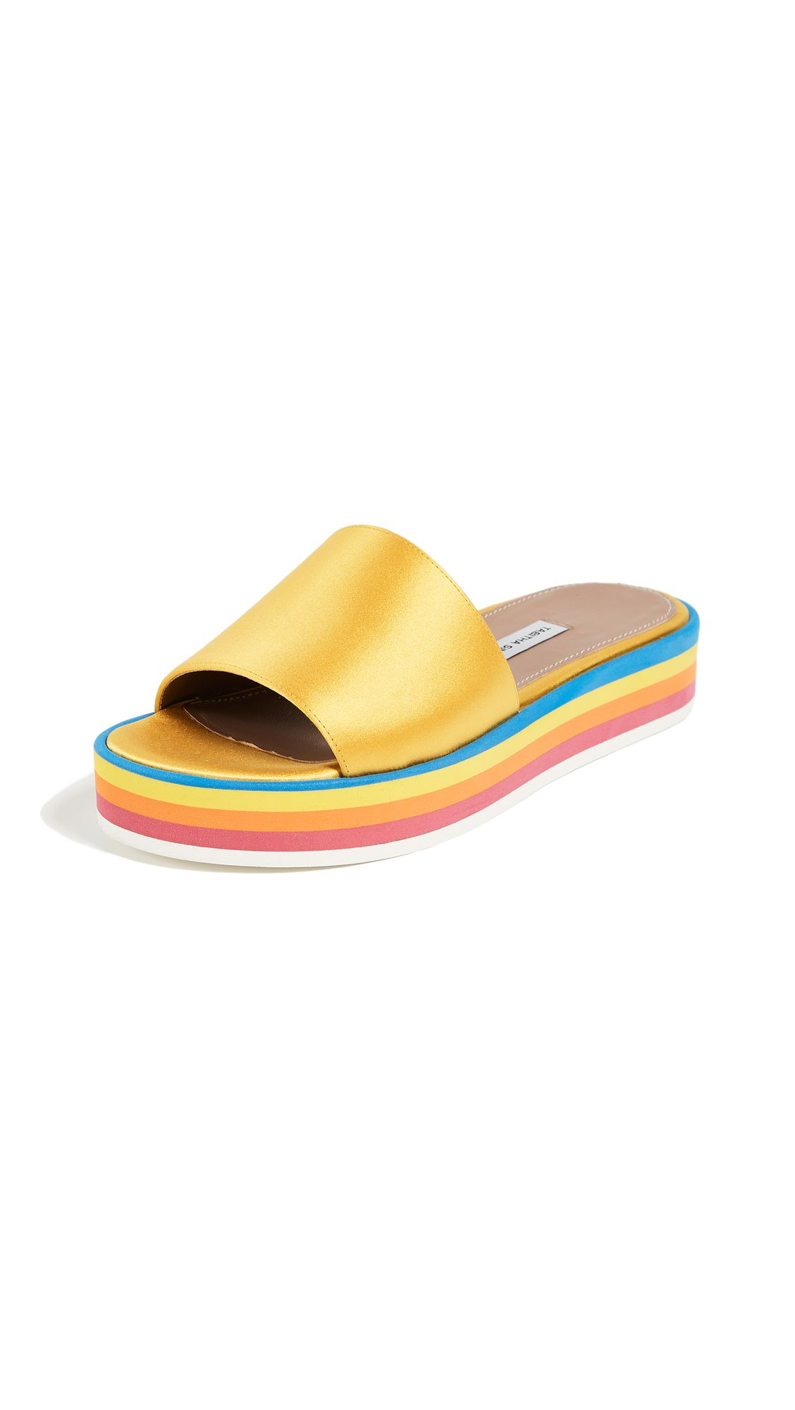 Cheapest Cheap Online Sale Explore Tabitha Simmons Women's Sophia Platform Slide Sandals Outlet Reliable Cheap Sale Eastbay vaklkGU