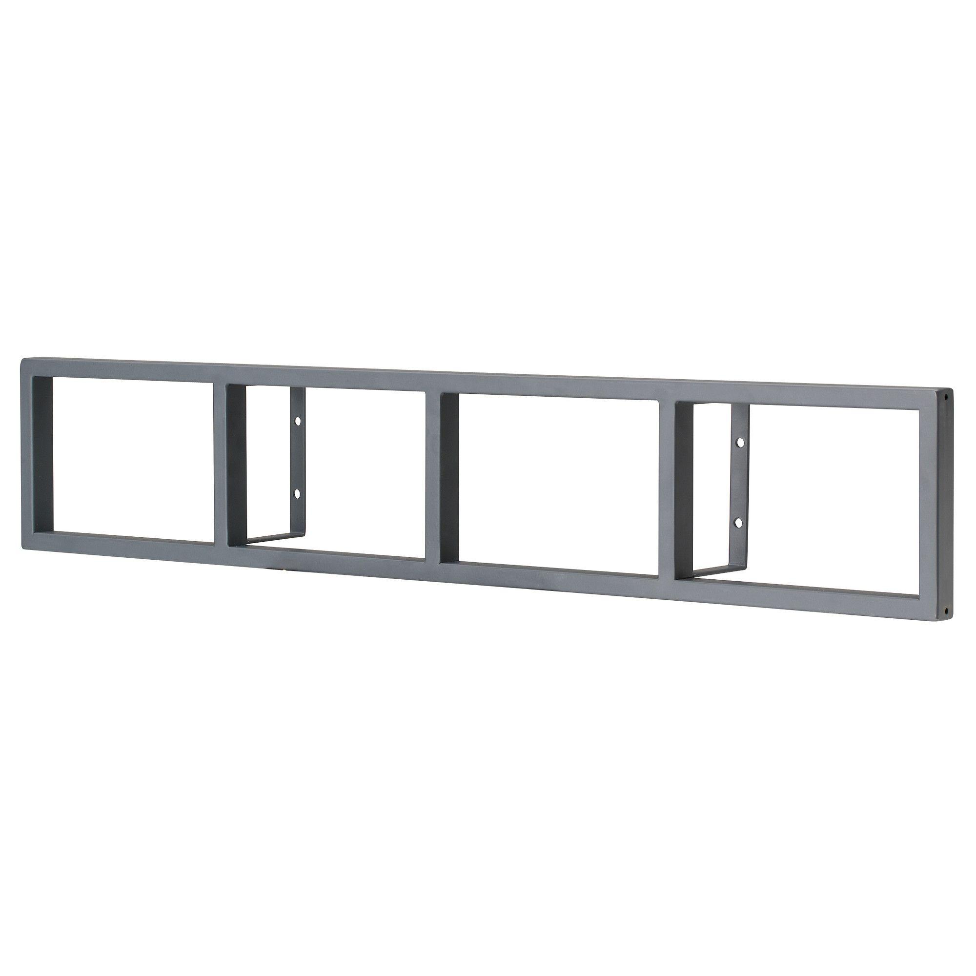 ikea wandregal metall wei. Black Bedroom Furniture Sets. Home Design Ideas