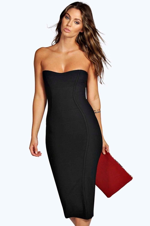 Bandage bodycon dresses 0 celebrities 1639 get lucky extra 50 0 - Gia Bandeau Bandage Midi Bodycon Dress
