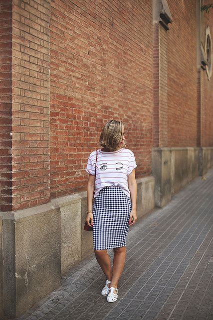 Vichy and stripes - My Showroom