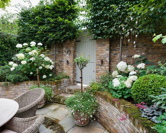 Beautiful small garden idea | West London Courtyard | small garden ...