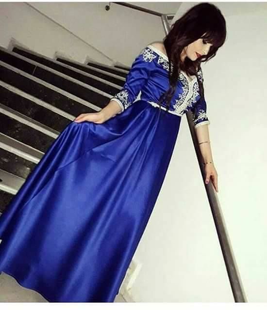 32fb0812ab907e طريقة لبس القفطان المغربي caftan luxe pour jeune fille   2018 قفطان ...