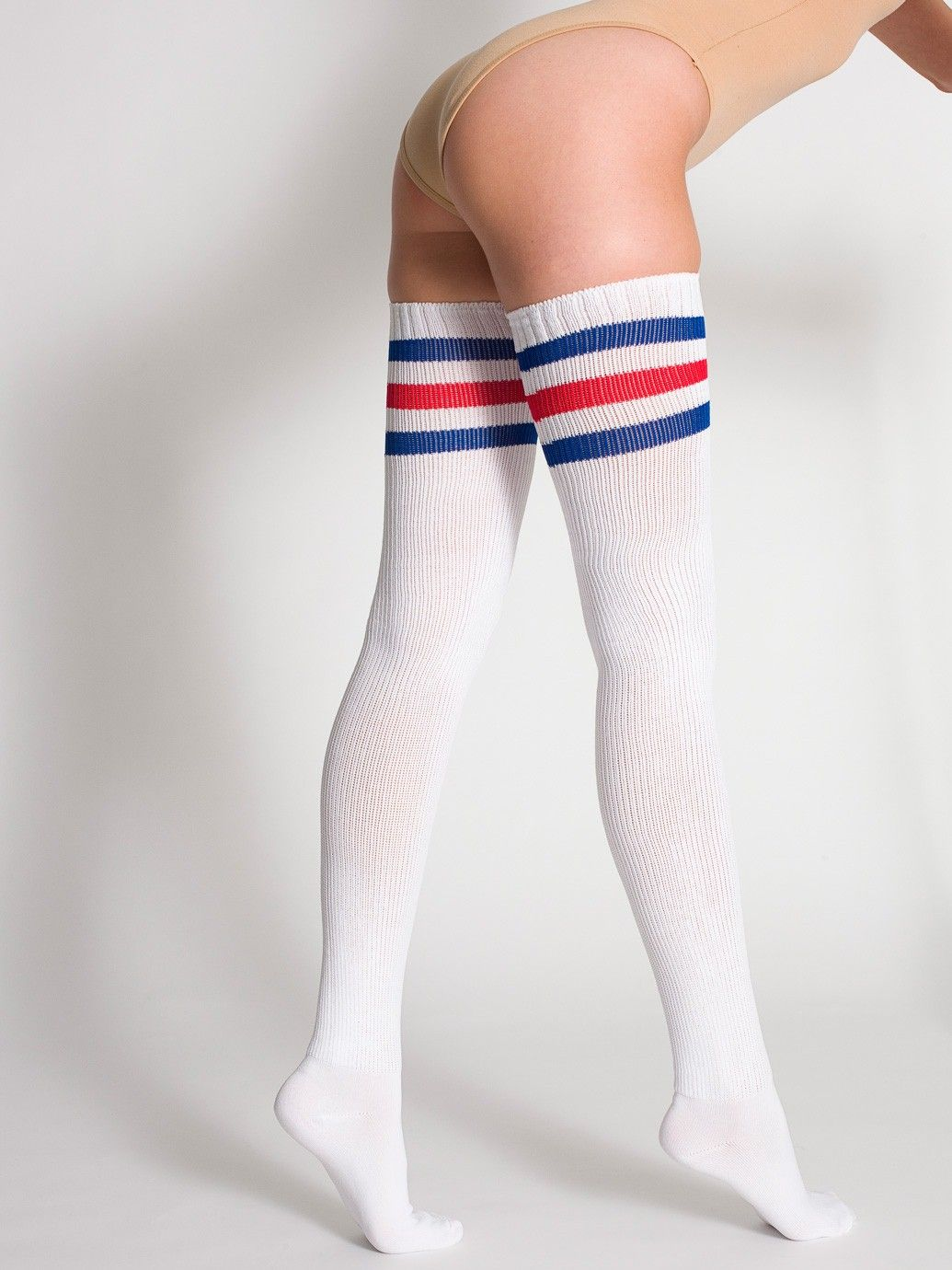 99bb740cd65 Stripe Thigh-High Sock