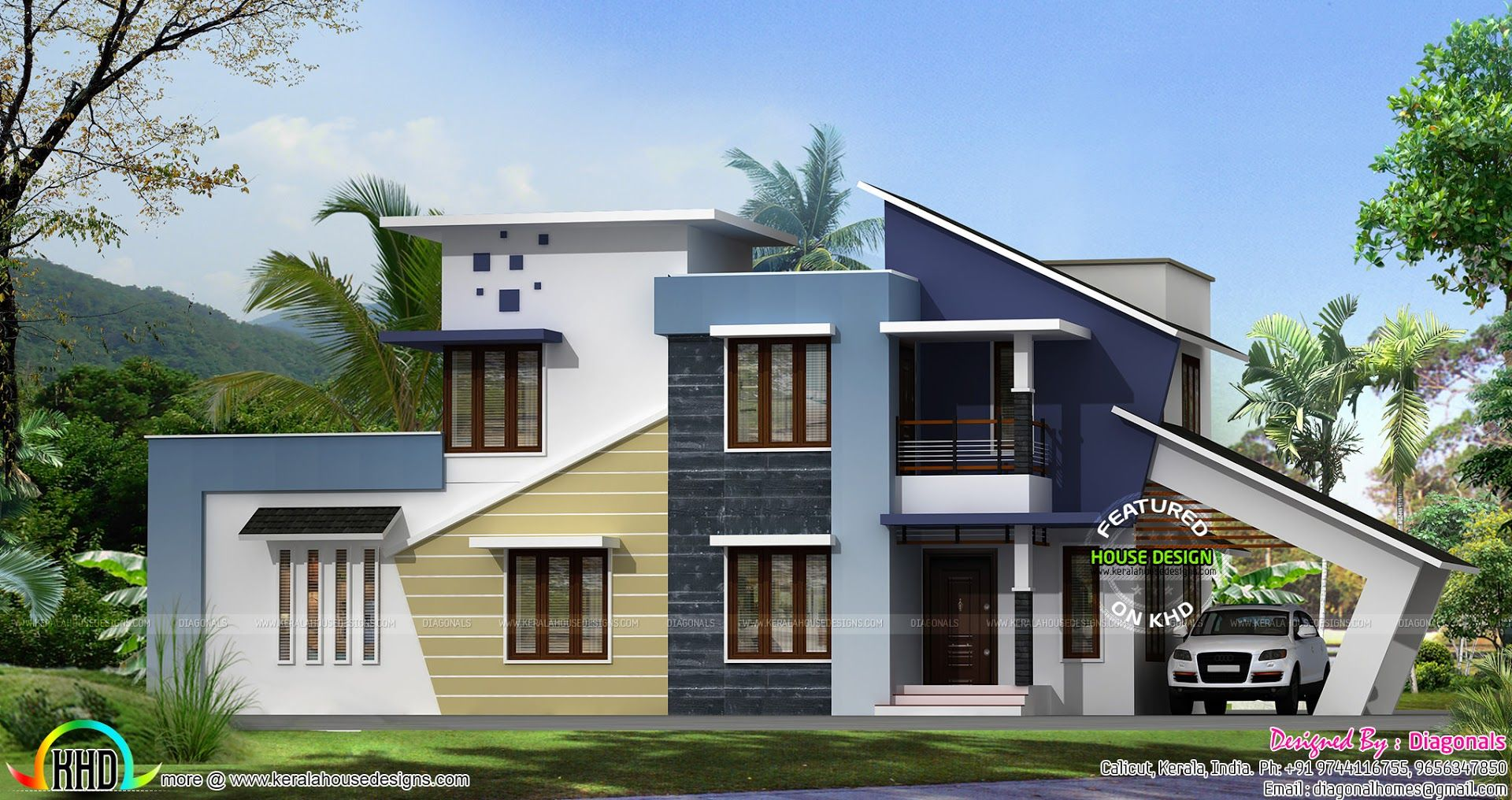 New Generation Home Design House Architecture Design Simple House Design Kerala House Design