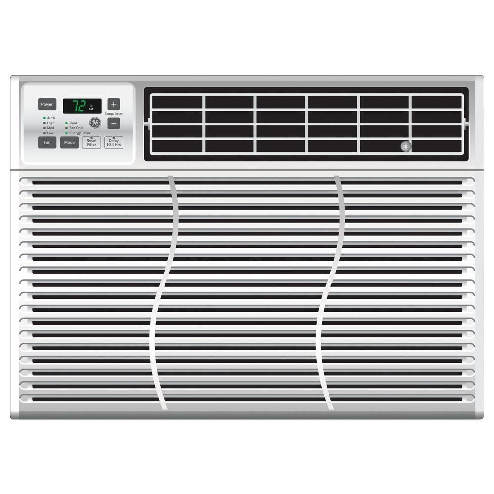 Home Depot Ge 10 000 Btu Energy Star 115 Volt Electronic Room Air