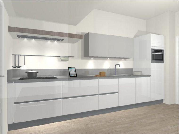20 Single Foto S Van Tweedehands Rechte Keuken Keuken Keuken Design Keuken Inspiratie