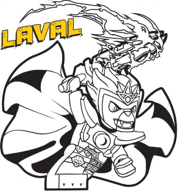 coloring page Lego Chima - laval | Ideas For The Twins | Pinterest