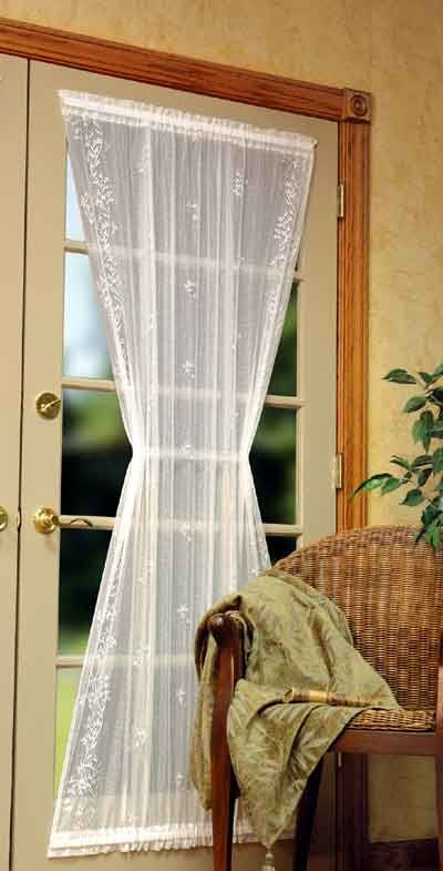 Heritage Sheer Divine Curtains Panel Doors Blinds For French Doors