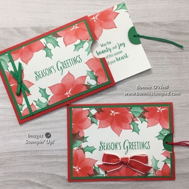 Pocket Card for a Gift Card -  #stylishchristmas #pocketcard #bonniestamped  - #Card #freegiftcard #Gift #giftcardluxury #giftcardvoucher #pocket