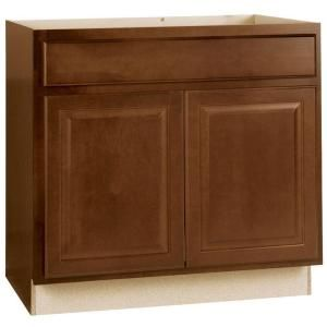 Best Hampton Bay Hampton Assembled 36X34 5X24 In Sink Base 640 x 480