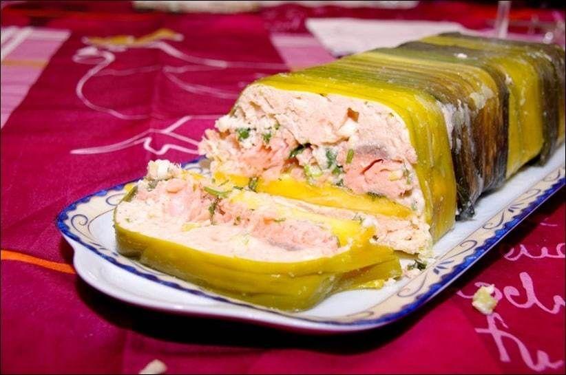 Terrine de saumon à la mangue et au gingembre ~ Happy papilles #terrinedesaumon