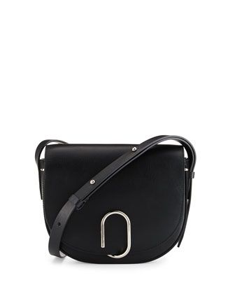 3d2c105899 3.1 Phillip Lim Alix Leather Saddle Bag