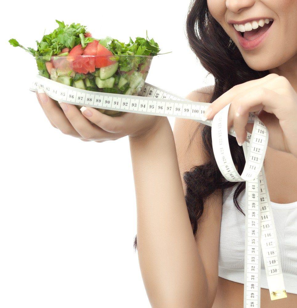 Принцип похудения на диете