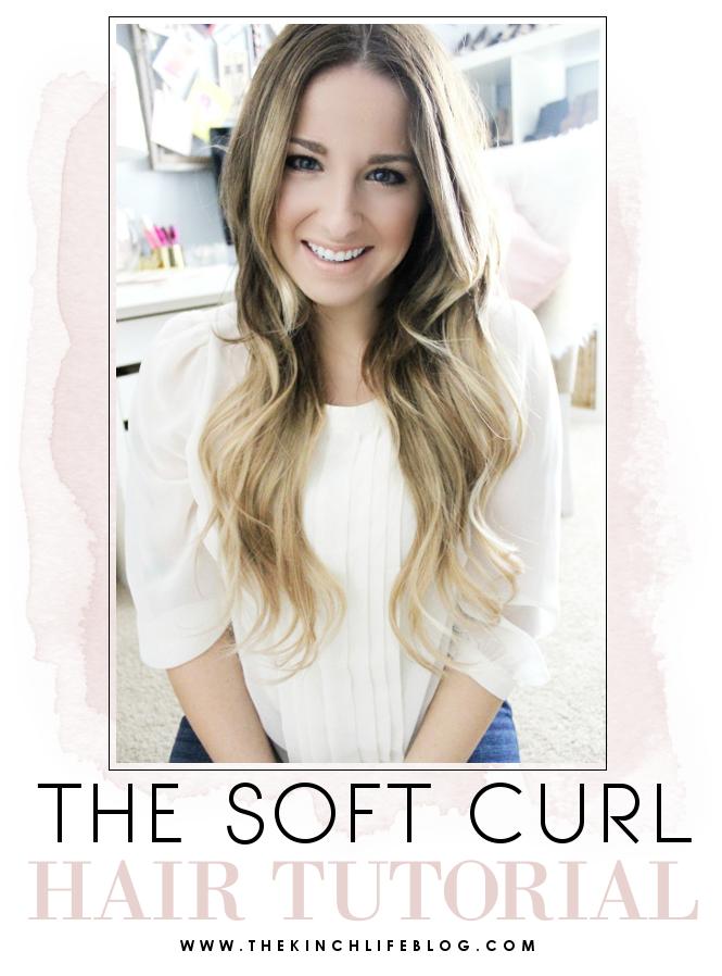 How To: Soft Curls (Aubrey Kinch #softcurls
