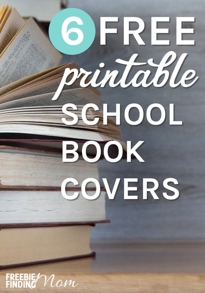 Printable Book Covers 8 Free Options Freebie Finding Mom School Book Covers Printable Books Book Cover Template