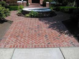 Image Result For Herringbone Brick Patio Walkway Backyard