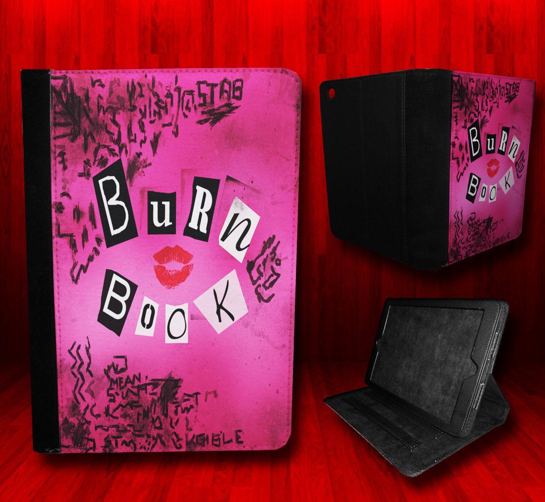"iPad Mini Tablet case ""Mean Girls Burn Book"" design"