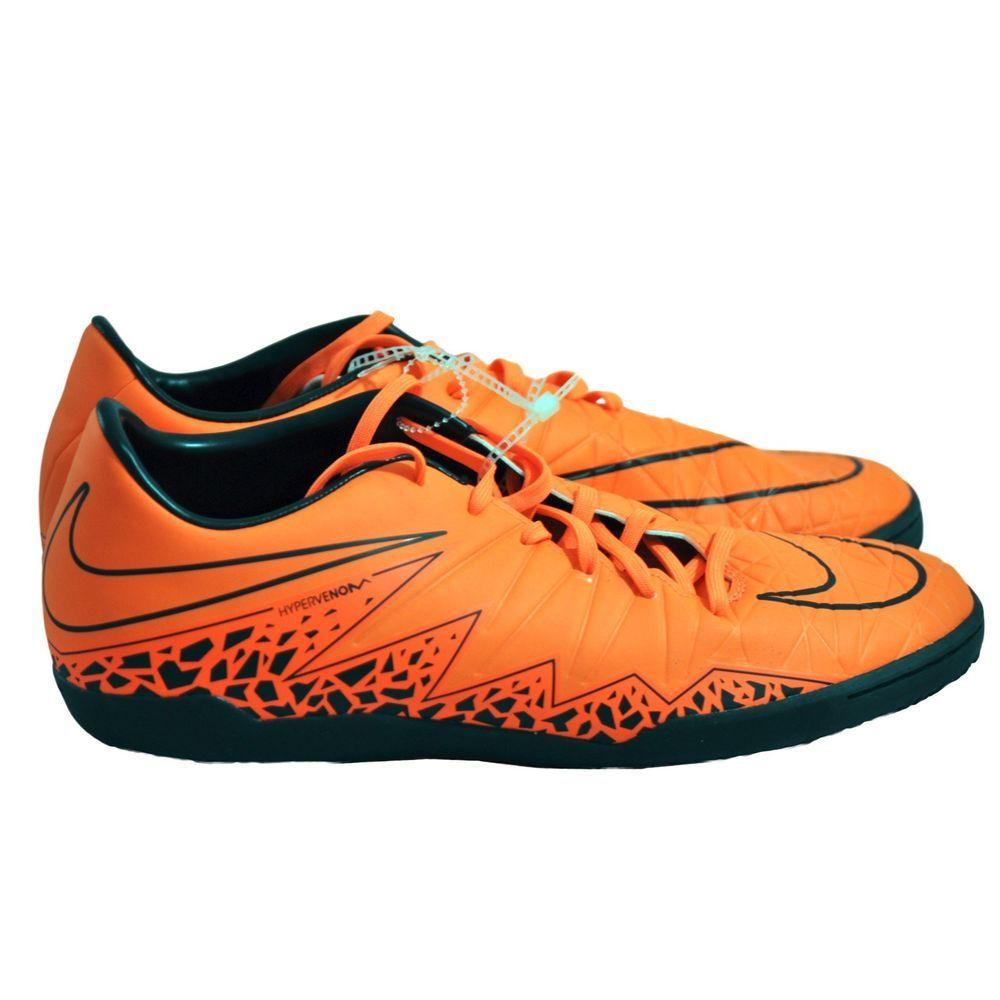 b25728f12c83 NIKE HYPERVENOM PHELON II IC Indoor Soccer Men s Shoes size 11.5 NEW  Nike