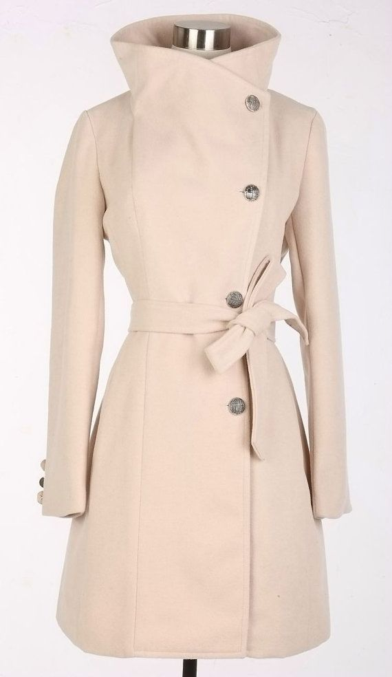 Beige Wool Jacket Women Coat Pashm women dress by fashiondress6 ...