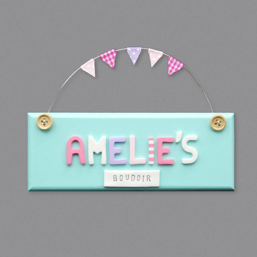 Phenomenal Personalised Vintage Style Door Sign Name Board Bedroom Home Interior And Landscaping Oversignezvosmurscom