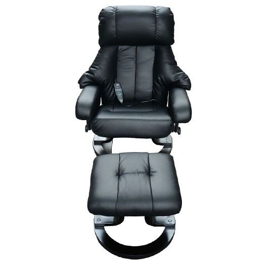 Fauteuil De Massage Electrique Relaxation Avec Chauffage Noir Neuf 71 Massage Chair Massage Equipment Spa Massage