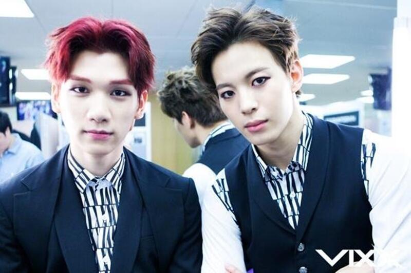 Hyuk and Hongbin