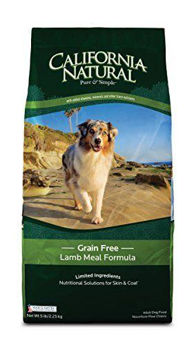 California Natural Grain Free Lamb Meal Formula Adult Dog Food 15 lb #2: ced9a07a2b4555d5750fb1e36cf3269c