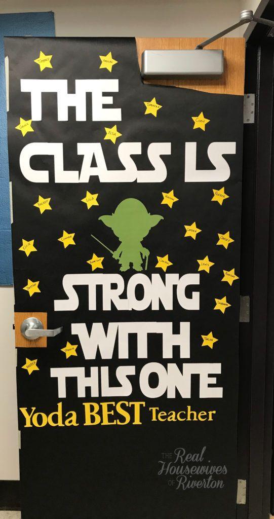Star Wars Teacher Appreciation Door Housewives Of Riverton Teacher Appreciation Doors Teacher Appreciation Poster Teacher Appreciation Week Door