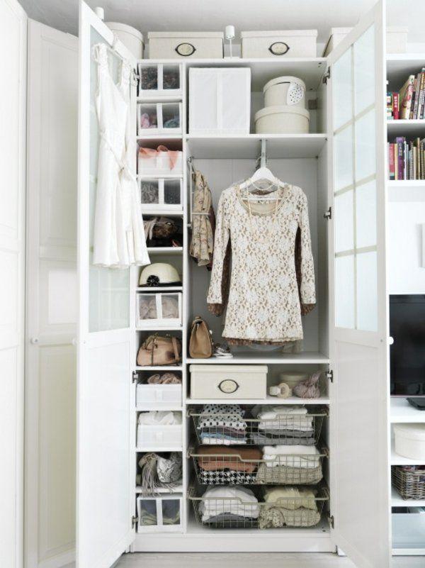 Trend Ein selbst zusammengebauter begehbarer Kleiderschrank f r kleine Zimmer hat ebenfall viele pragmatische Vorteile und kann sowohl im Schlafzimmer als auch