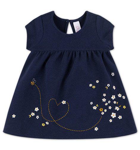Babys Baby-Kleid in dunkelblau - Mode günstig online ...
