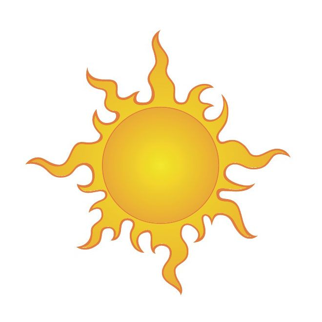 sun clip art 4 free vector clip art rh pinterest com Cartoon Sunshine Clip Art Free Vector Clip Art Color