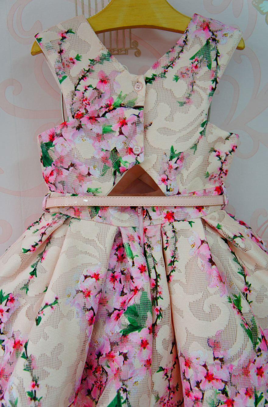 d9dba54682 Vestido de Festa Infantil Antonela - Petit Cherie